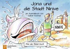 5er-Pack: Mal die Bibel bunt - Jona und die Stadt Ninive Konrad, Volker 9783761565681