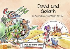 5er-Pack: Mal die Bibel bunt - David und Goliat Konrad, Volker 9783761565674