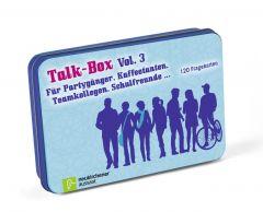 Talk-Box - Für Partygänger, Kaffeetanten, Teamkollegen, Schulfreunde Filker, Claudia/Schott, Hanna 9783761558690