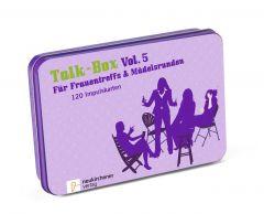 Talk-Box - Für Frauentreffs & Mädelsrunden Filker, Claudia/Schott, Hanna 9783761559499