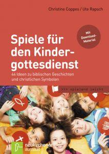 Spiele für den Kindergottesdienst Coppes, Christine/Rapsch, Ute 9783761560693