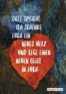 Plakat 'Jahreslosung 2017' Inge Heinicke-Baldauf 9783761563243