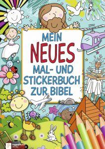 Mein neues Mal- und Stickerbuch zur Bibel Christina Herr 9783761564288