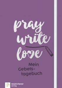 pray write love Anja Schäfer 9783761564301