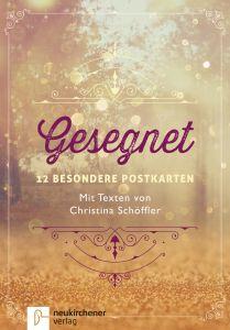 Gesegnet - 12 besondere Postkarten Miriam Gamper-Brühl 9783761564738