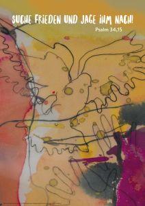 Postkarte 'Jahreslosung 2019' Inge Heinicke-Baldauf 9783761565544