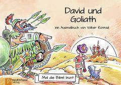 Mal die Bibel bunt - David und Goliat