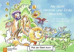 5er-Pack: Mal die Bibel bunt - Am Anfang schuf Gott Konrad, Volker 9783761565650