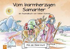 5er-Pack: Mal die Bibel bunt - Vom barmherzigen Samariter Konrad, Volker 9783761565711