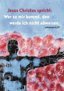 Jahreslosung 2022 Motiv Heinicke-Baldauf Postkarten 10er