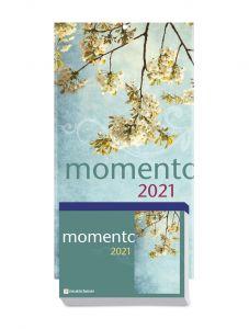 momento 2021 - Abreißkalender mit Rückwand und Aufstellfuß