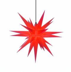 Herrnhuter Stern A7 rot ca. 68 cm
