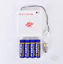 Herrnhuter Stern Batteriehalter für  i1 / A1e /  A1b