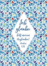 Postkarten 'Jahreslosung 2020 - Muster'  4034905427170