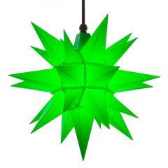 Herrnhuter Stern A4 grün ca. 40 cm