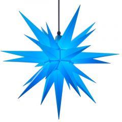 Herrnhuter Stern A7 blau ca. 68 cm