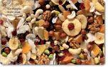 Vesperbrettchen / Frühstücksbrettchen Studentenfutter