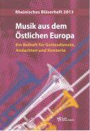 Cover Musik aus dem Östlichen Europa - Ein Beiheft für Gottesdienste, Andachten und Konzerte